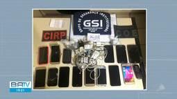 Agentes penitenciários encontram celulares e drogas durante operação na Lafayete Coutinho