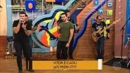 """Bora de clássico? """"Quero provar que te amo, com Vitor e Cadu"""