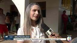 Campanha de imunização contra o sarampo começa em Montes Claros nesta segunda (07)