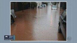 Chuva provoca alagamentos em diversos bairros de Itajubá