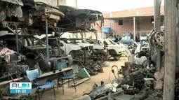 Polícia Civil encontra desmanche clandestino no Tabuleiro