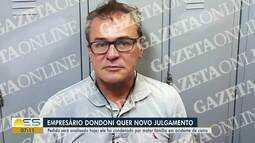 Acusado de provocar acidente que matou família, Dondoni quer novo julgamento