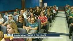 Campanha contra a obesidade é lançada em Manaus