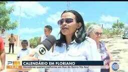 Moradores de Floriano pedem melhorias no bairro Via Azul