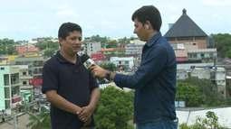 Repórter fala sobre campanha de vacinação contra o sarampo em Cruzeiro do Sul