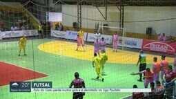 Pulo do Gato desperdiça chances de gol e perde para o Dracena na Liga Paulista de Futsal