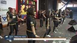 Tribuna Kids reúne diversas famílias no Dia das Crianças