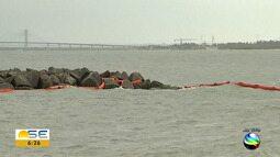Confira a atualização sobre das manchas de óleo no Rio Sergipe