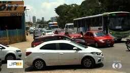 Trânsito de Goiânia tem pontos críticos de engarrafamento