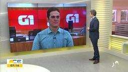 Valdir Almeida mostra os destaques do G1 desta quinta-feira (31)
