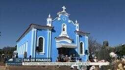 Cemitérios esperam 250 mil visitantes no Dia de Finados em Campinas