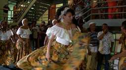 Programa mostra rotina de quem participa dos grupos de tambor de crioula