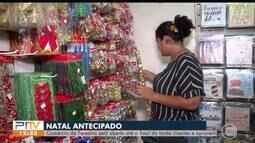 Comércio abre no feriado e clientes aproveitam para fazer compras natalinas