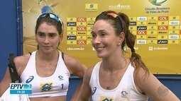 Filhas da ex-jogadora Isabel disputam etapa do Circuito Brasileiro de Vôlei de Praia