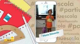 #PartiuEscola: confira a participação das crianças no quadro interativo do JM