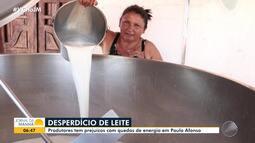Quedas de energia causam sérios prejuízos aos produtores de leite de Paulo Afonso