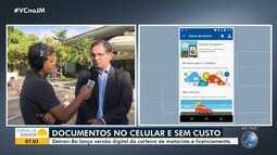 Detran baiano lança versão digital da carteira de motorista e licenciamento de veículos