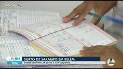 Após surto de sarampo, Sesma faz vacinação itinerante em Belém