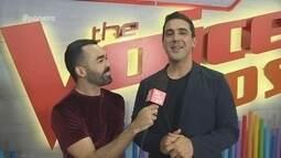 Parte 1: Paneiro entra no clima da nova temporada do The Voice Kids