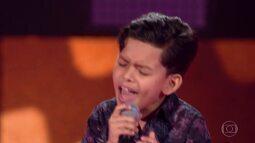 Vinne Ramos canta 'Fui Fiel' nas Audições às Cegas