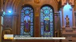 Missas homenageiam São Sebastião, padroeiro de Ribeirão Preto