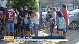 Alunos da rede municipal de Corumbá e Ladário voltaram às aulas