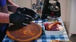 Culinária: hambúrguer artesanal na brasa
