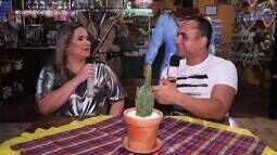 Cantora Maraisa bate um papo com Menilson Filho