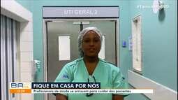 Profissionais de saúde falam sobre a dura rotina de trabalho na pandemia de coronavírus