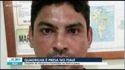 Acusado de estuprar 19 mulheres e suspeito de matar policial no PA é preso no Piauí
