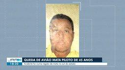 Queda de avião mata piloto de 45 anos em Roraima