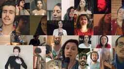 Músicos do Coletivo Barbante, da Unicamp, interpretam música de Milton Nascimento