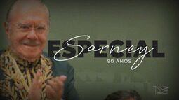 Especial José Sarney - 90 anos   íntegra do dia 25/04/2020