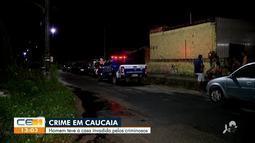 Criminosos invadem casa e matam homem dentro de casa em Caucaia