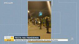 Lauro de Freitas: Realização de festas com aglomeração dificultam o combate ao coronavírus