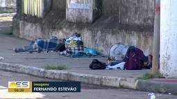 Moradores de rua são infectados pelo novo coronavírus