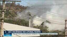 Incêndio é controlado em Balneário Camboriú