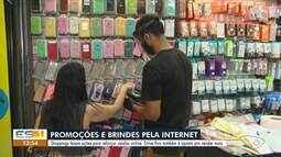 Shoppings da Grande Vitória fazem ações para reforçar as vendas pela internet