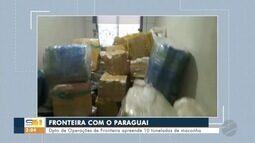 Policiais do DOF apreendem 10 toneladas de maconha