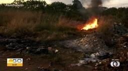 Flashlink flagra queimada clandestina em Goiânia