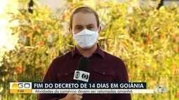 Primeiros 14 dias de fechamento do comércio acabam hoje em Goiás