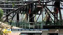 Bondinho de Ubajara está com obras paralisadas