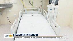 Hospital das Clínicas tem novos leitos para tratamento de pacientes de Covid-19 em Goiânia