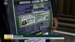 Instituto de Identificação explica solicitação de novo RG em Sergipe