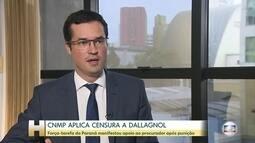 CNMP pune Deltan Dallagnol com censura por postagens contra Renan Calheiros