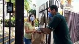 Isolamento social provocado por pandemia impulsiona serviços de delivery em Rio Preto