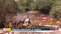Feriadão impulsiona o turismo no Sul do Maranhão