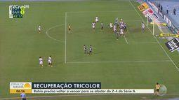 Bahia se prepara para pegar o Goiás, lanterna da série A, com desafio de se afastar do Z4
