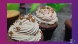 Carol dá receita de cupcake de chocolate com caramelo salgado