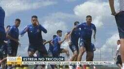 Futebol: Bahia enfrenta o Atlético-MG nesta segunda e pode ter novidades em campo